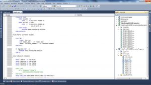 Editing di un programma COBOL utilizzando Il NetCobol Fujitsu
